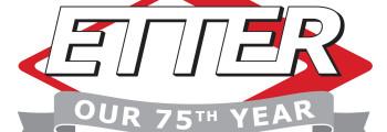 ETTER's 75th Anniversary