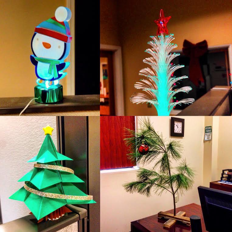 Holiday Desk Decorating Etter Engineering Company